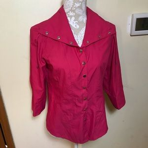 Zenergy by Chico's pink jacket, US size 4